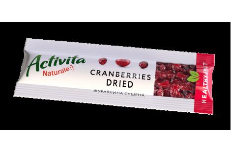 Журавлина сушена Healthy Fruit 30г