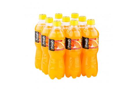 Напиток сокосодержащий негазированный I Fresh «Апельсин» 0.5л