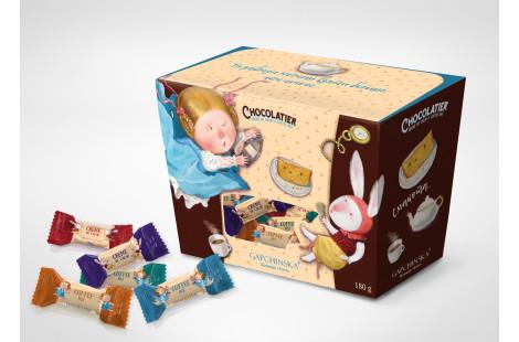 Асорті цукерок Crème de cacao, Cofee Mix 180г