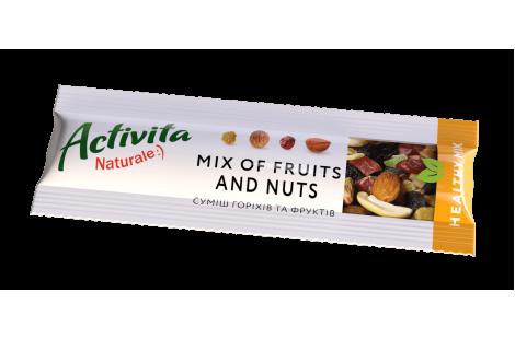 Суміш горіхів та фруктів Healthy mix