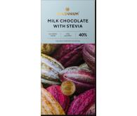 Шоколад молочный «Millennium со стевией».
