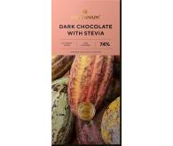 Шоколад чёрный 74% «Millennium со стевией»