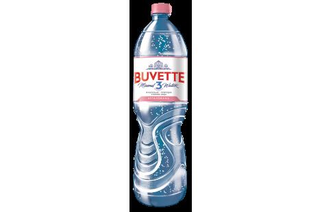 Минеральная природная столовая вода «Buvette 3» негазированная 1.5л