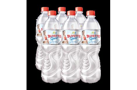Вода мінеральна природна столова «Buvette Sport» негазована 0.75л
