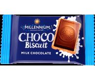 Шоколад молочный «Millennium Choco Biscuit» с печеньем