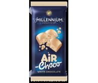 Шоколад «Millennium» пористий білий 80г