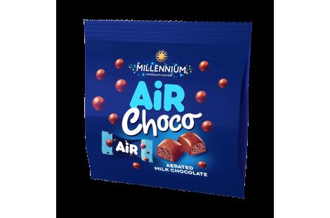 Цукерки шоколадні «Millennium Air» молочні з молочною начинкою