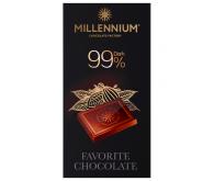 """Шоколад """"Millennium Favorite """" чёрный  99%"""