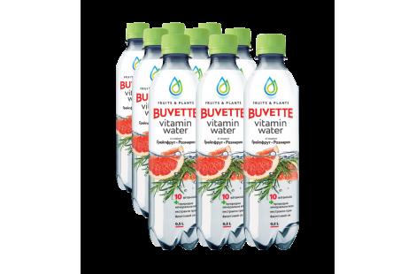 Напій «Buvette Vitamin Water» Грейпфрут та розмарин 0.5л