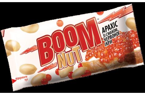 Арахис BOOM NUT соленый со вкусом красной икры 30г