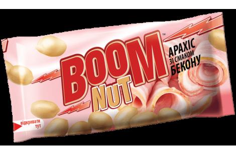 Арахис BOOM NUT соленый со вкусом Бекона 30г