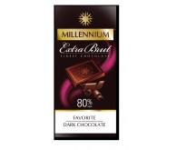 Шоколад «Millennium Favorite» Brut чорний 80% 100г