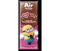 Шоколад Любімов пористий молочний 65г