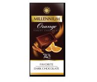Шоколад чорний Millennium Favorite з апельсином 100г