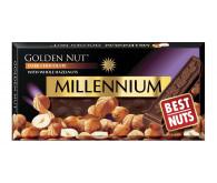 Шоколад чорний Millennium з лісовими горіхами 100г