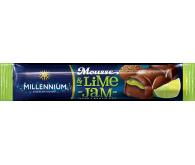 Шоколад чорний «Millennium Mousse» з мусовою та лаймовою начинкою 33г