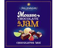 Цукерки шоколадні Millennium Mousse асорті 180г