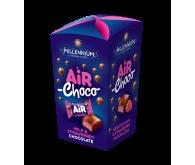 Цукерки шоколадні Millennium Air з молочною та полуничною начинкою 100г