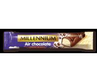 Шоколад «Millennium» пористий молочний та білий 32г