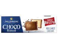 Шоколад Ассорти «Millennium Choco Biscuit» с печеньем 130г