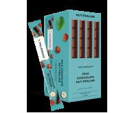 Шоколад «Millennium» молочний з горіховим праліне 38г