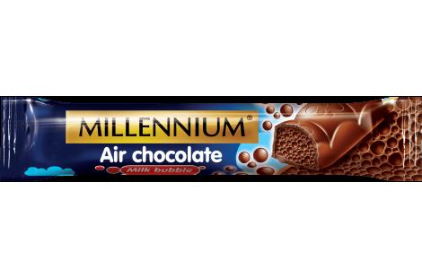 Шоколад «Millennium» пористий молочний  32г