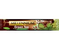 Aerated Dark Chocolate MILLENNIUM Green Tea 32g
