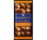 Шоколад молочний «Millennium Fruits&Nuts» 140г