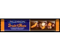 Millennium «Fruits & Nuts» Молочний шоколад з курагою, родзинками та горіхами 35г