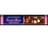 Millennium «Fruits & Nuts» Молочний шоколад  з журавлиною, родзинками та горіхами 35г