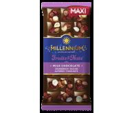 Шоколад  молочний «Millennium Fruits & Nuts» 140г